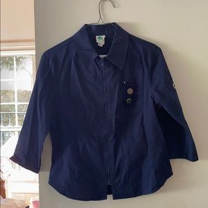 Authentic Vintage Girls scouts blouse with pins👕